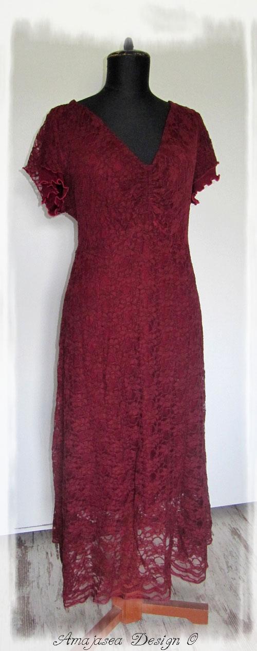 Auch noch nie gesehen - ein festliches Kleid Ajaccio ...
