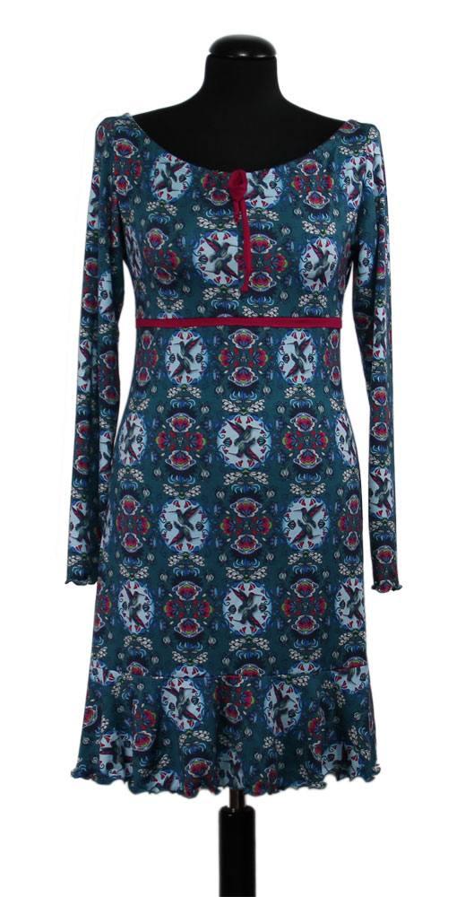 Unser Gratis-Schnittmuster Kleid Vichy aus \